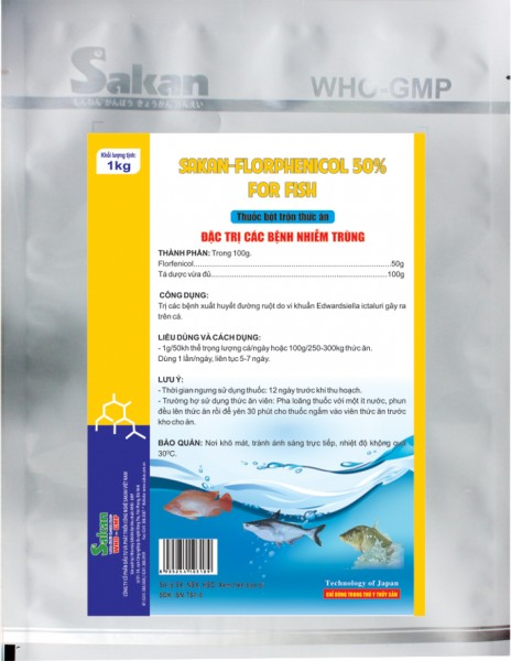 SK-FLORPHENICOL 50% FOR FISH